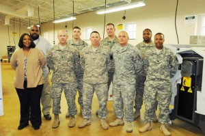 Fort Lee Soldiers in Training