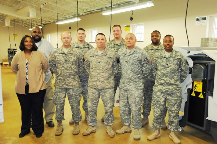 From Army Post to Manufacturing Floor; New Training Program Bridges the Gap
